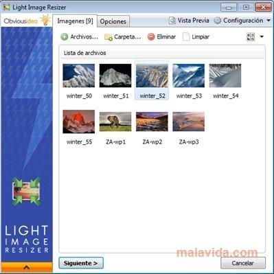 Light Image Resizer image 4