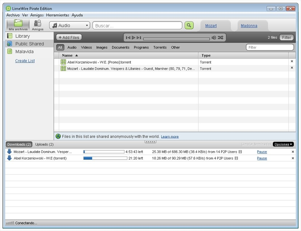 LimeWire Pirate Edition 5.6.2