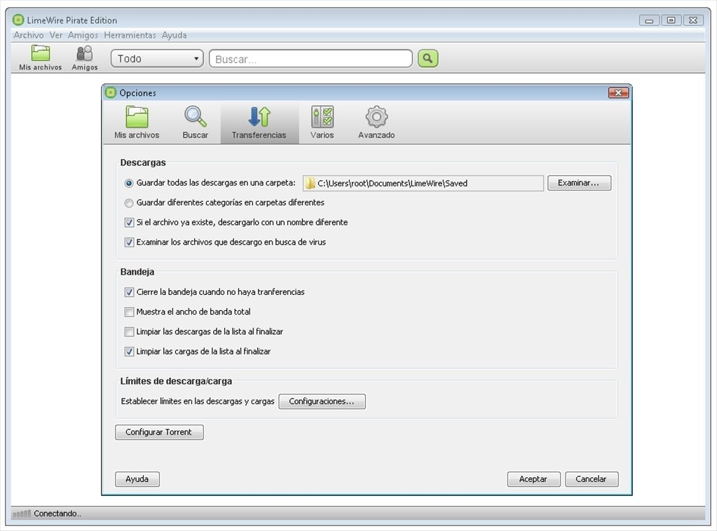 limewire in italiano gratis