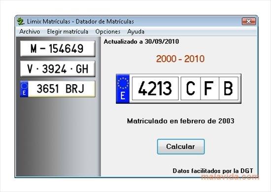 Limix Matrículas image 4