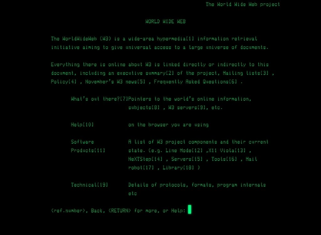 Line Mode Browser Webapps image 2