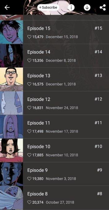 webtoon apk 2018