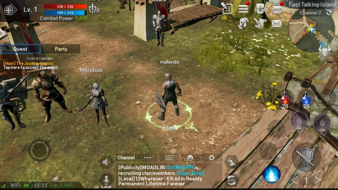 Lineage2 Revolution - 7 Top Download Android Game Yang Wajib Anda Coba
