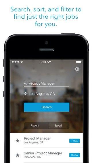 LinkedIn Job Search iPhone image 5