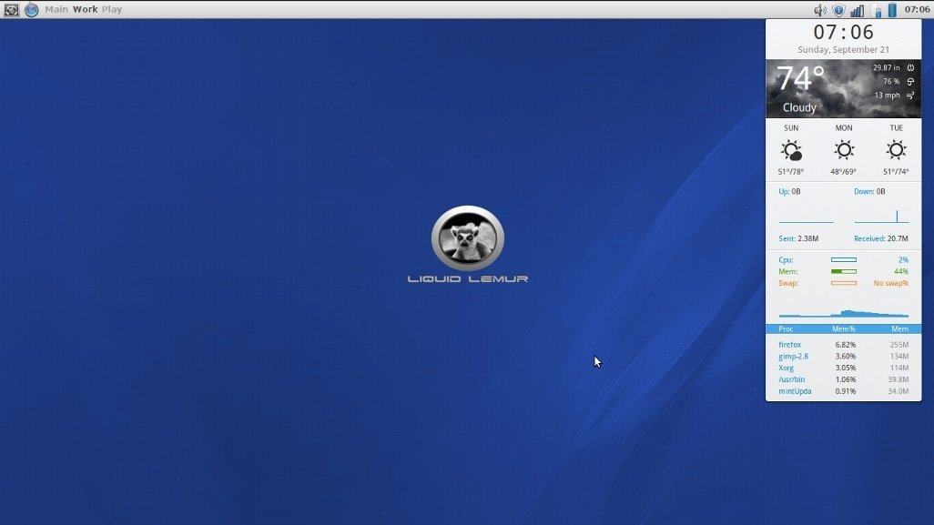 Liquid Lemur Linux Linux image 6