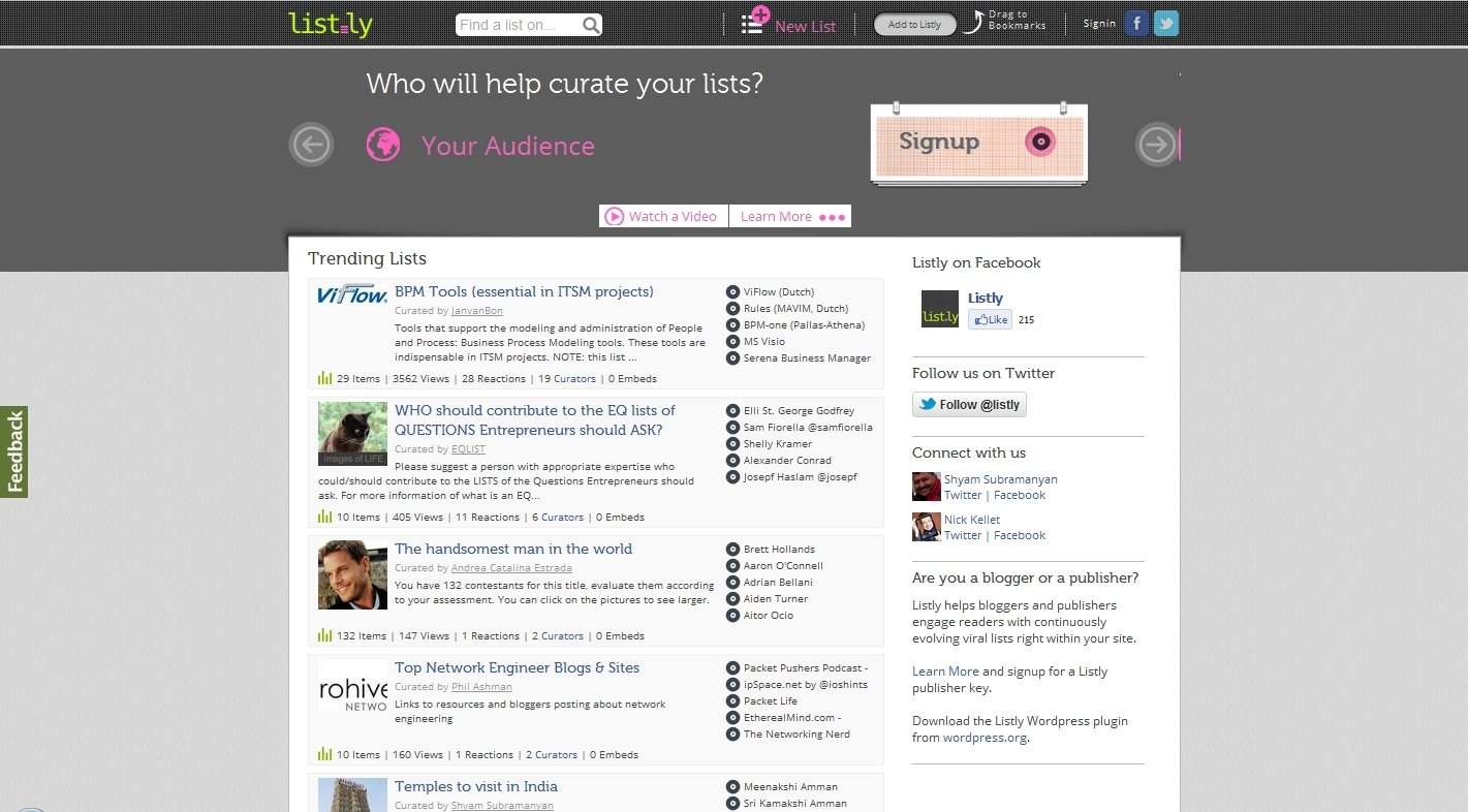 List.ly Webapps image 5