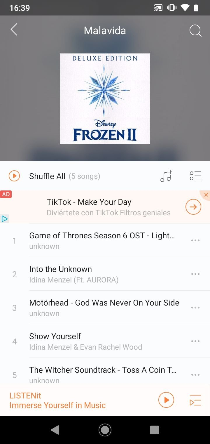 Music Player - just LISTENit, Local, Without Wifi APK Download