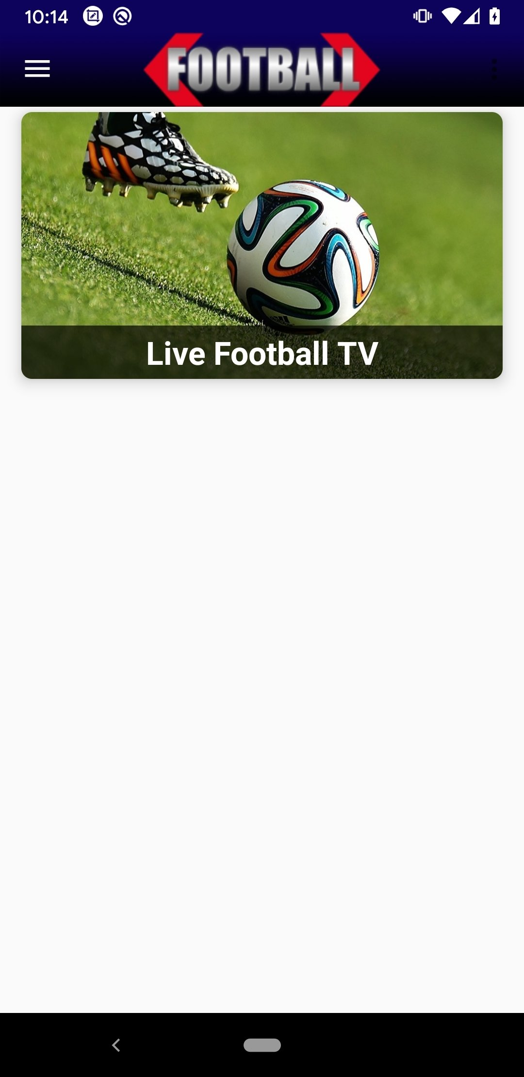 Live Football TV Streaming HD 1.16 - Download for Android APK Free