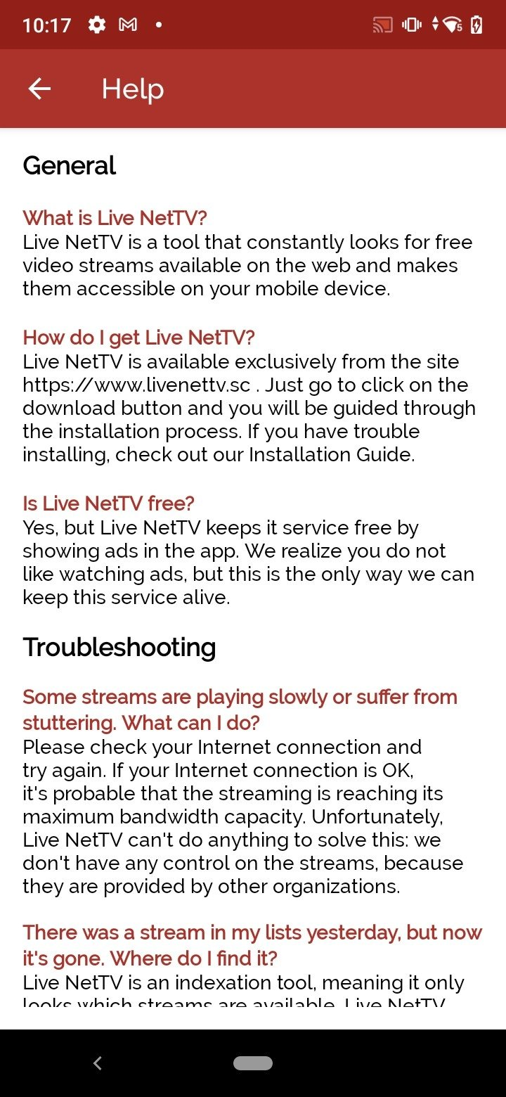 Live NetTV 4 7 - Download for Android APK Free