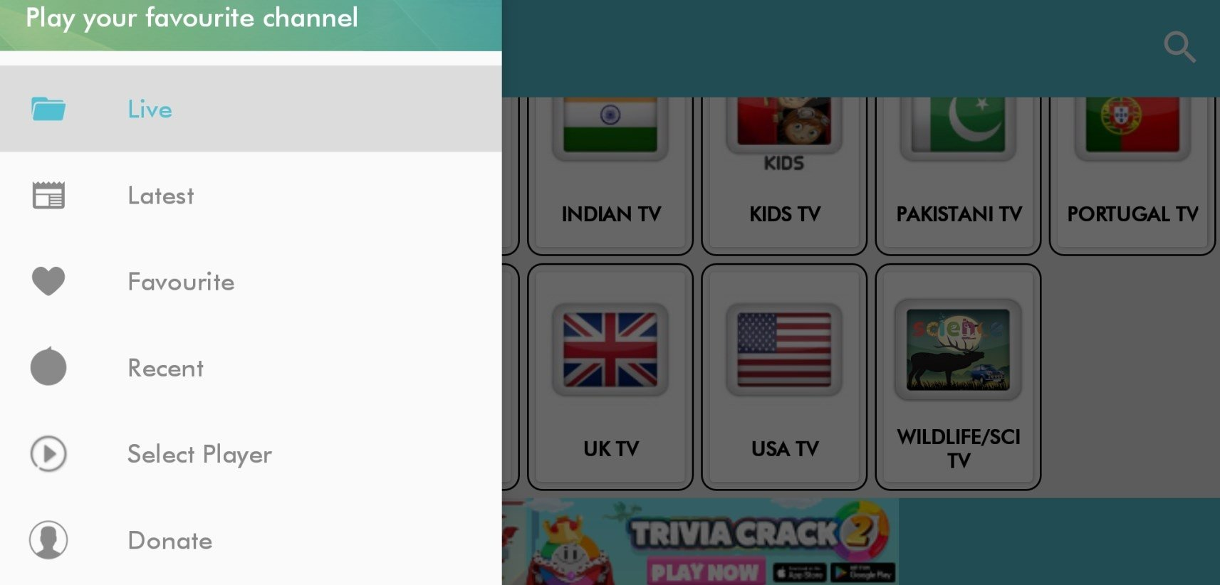 Live Planet TV 1 6 - Download for Android APK Free