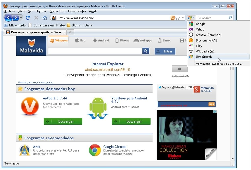 Download Live Search 20090701 - Free