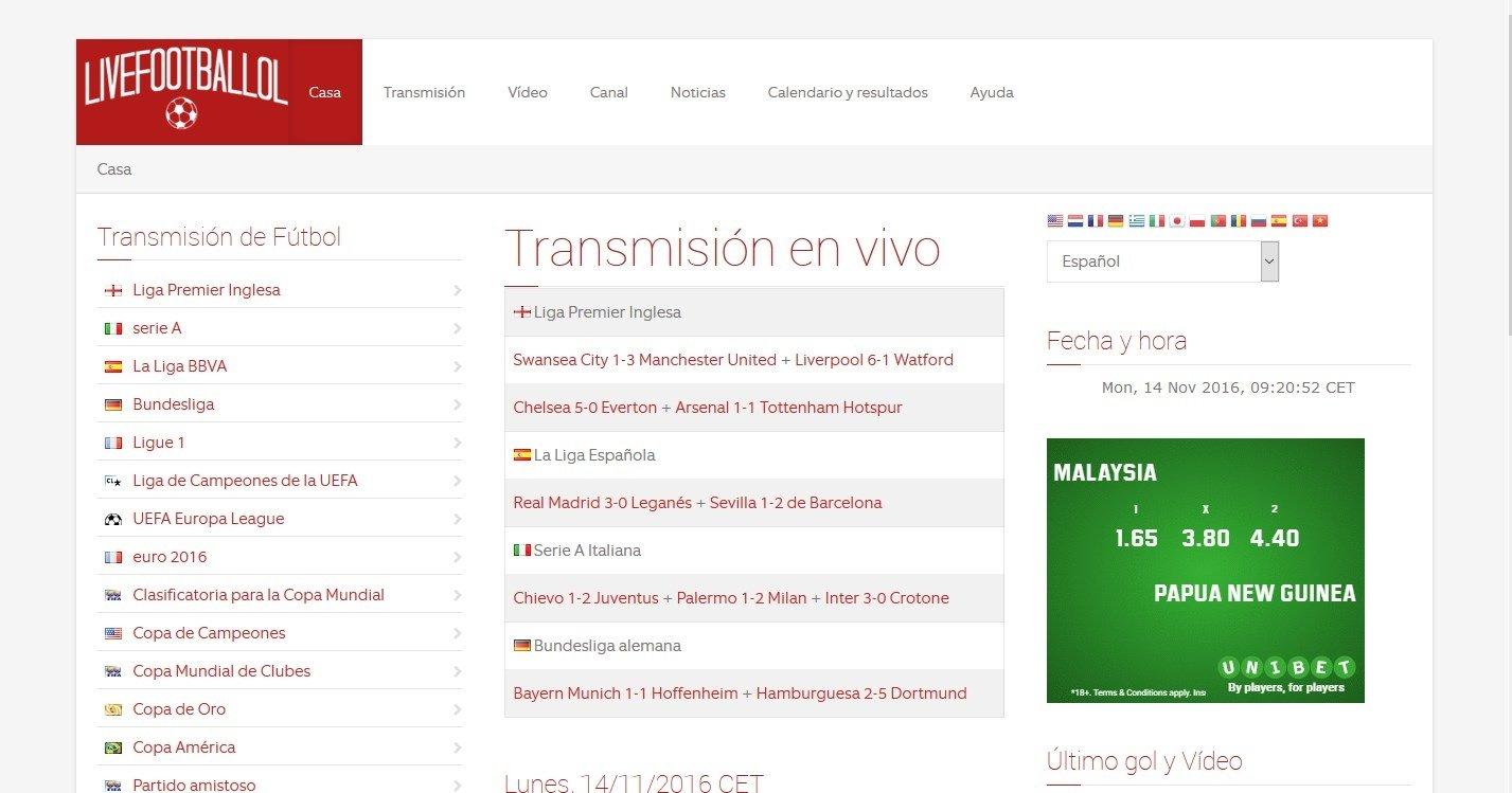 Livefootballol Webapps image 6