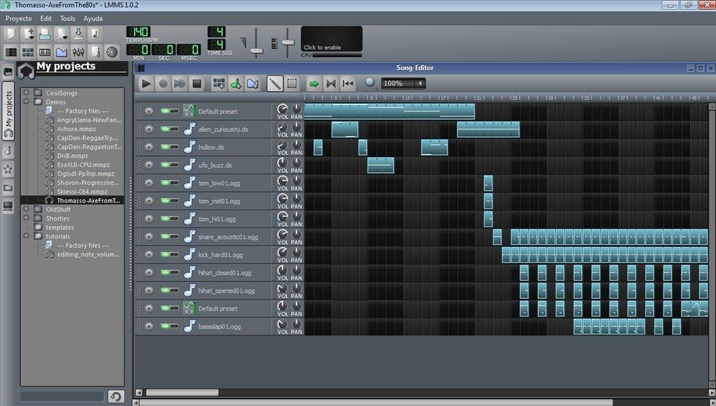 lmms linux multimedia studio gratuit
