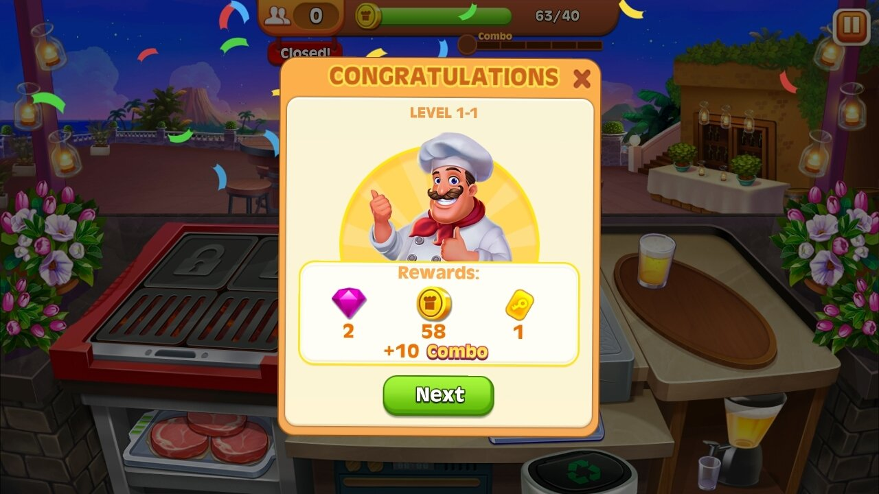 Cooking Madness 1 4 7 - Télécharger pour Android APK
