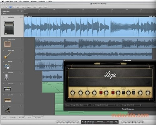 Logic Pro X 10 4 4 - Download for Mac Free