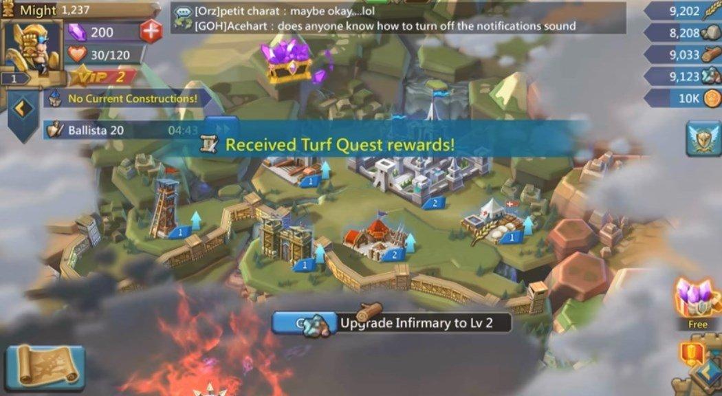 Descargar Lords Mobile Guerra De Reinos Batalla Mmo Rpg