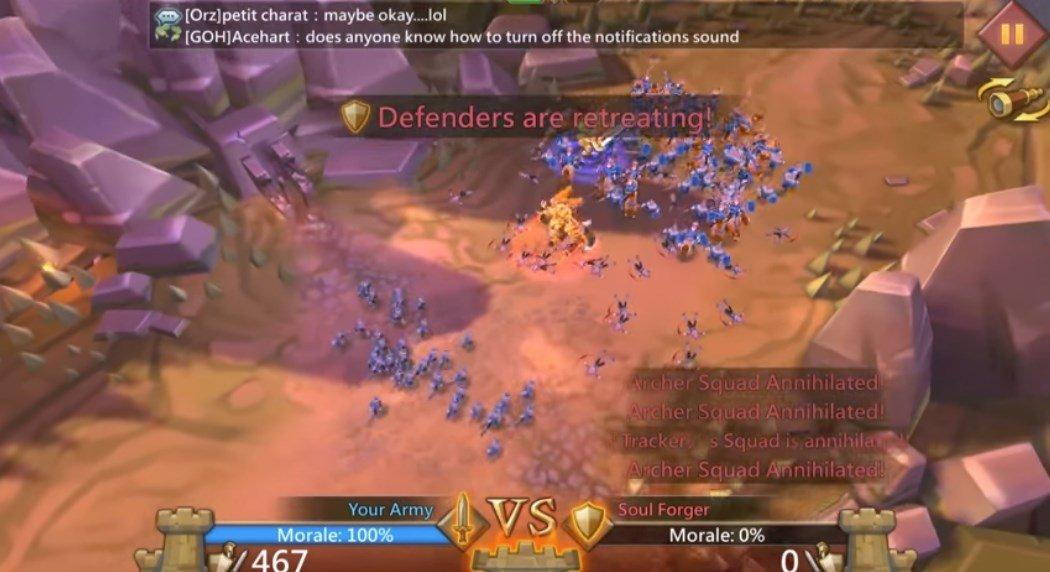 Lords Mobile: Battle of the Empirestipps über mod apk