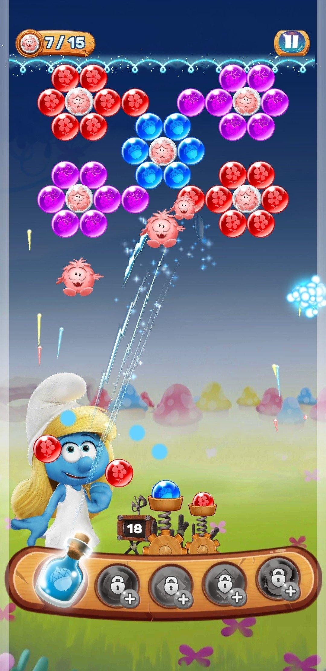 Schtroumpfs Histoire de bulles Android image 8