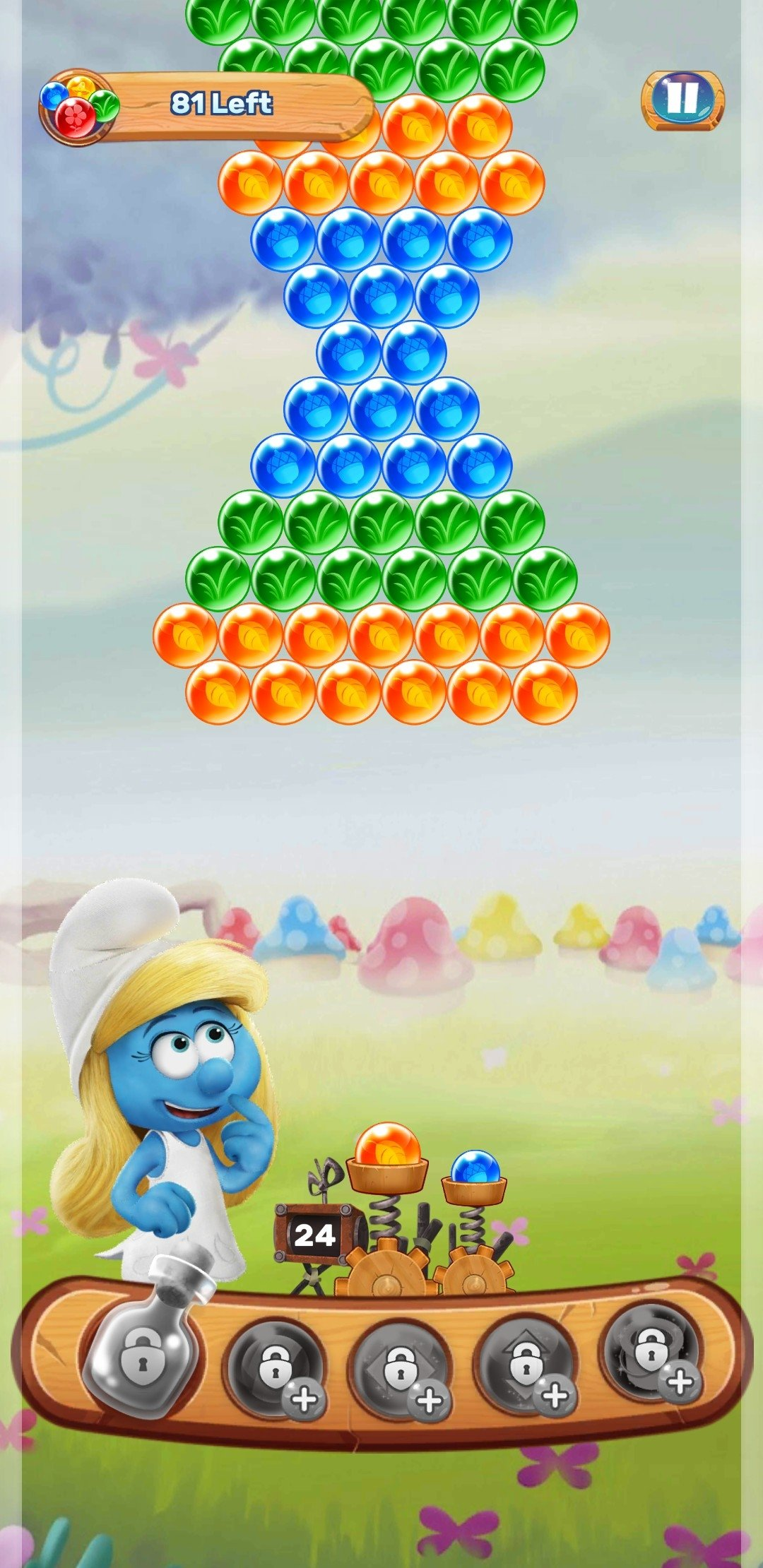 Smurfs Bubble Story 1 11 11883 Download For Android Apk Free
