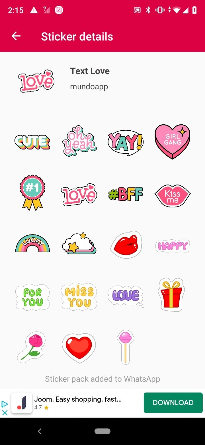 Love Stickers For Whatsapp 4 1 Download For Android Apk Free