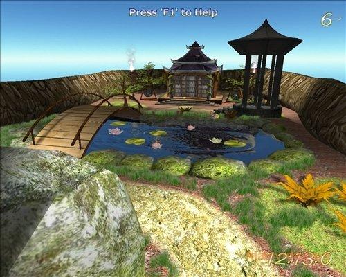 Lovely Pond 3D Screensaver