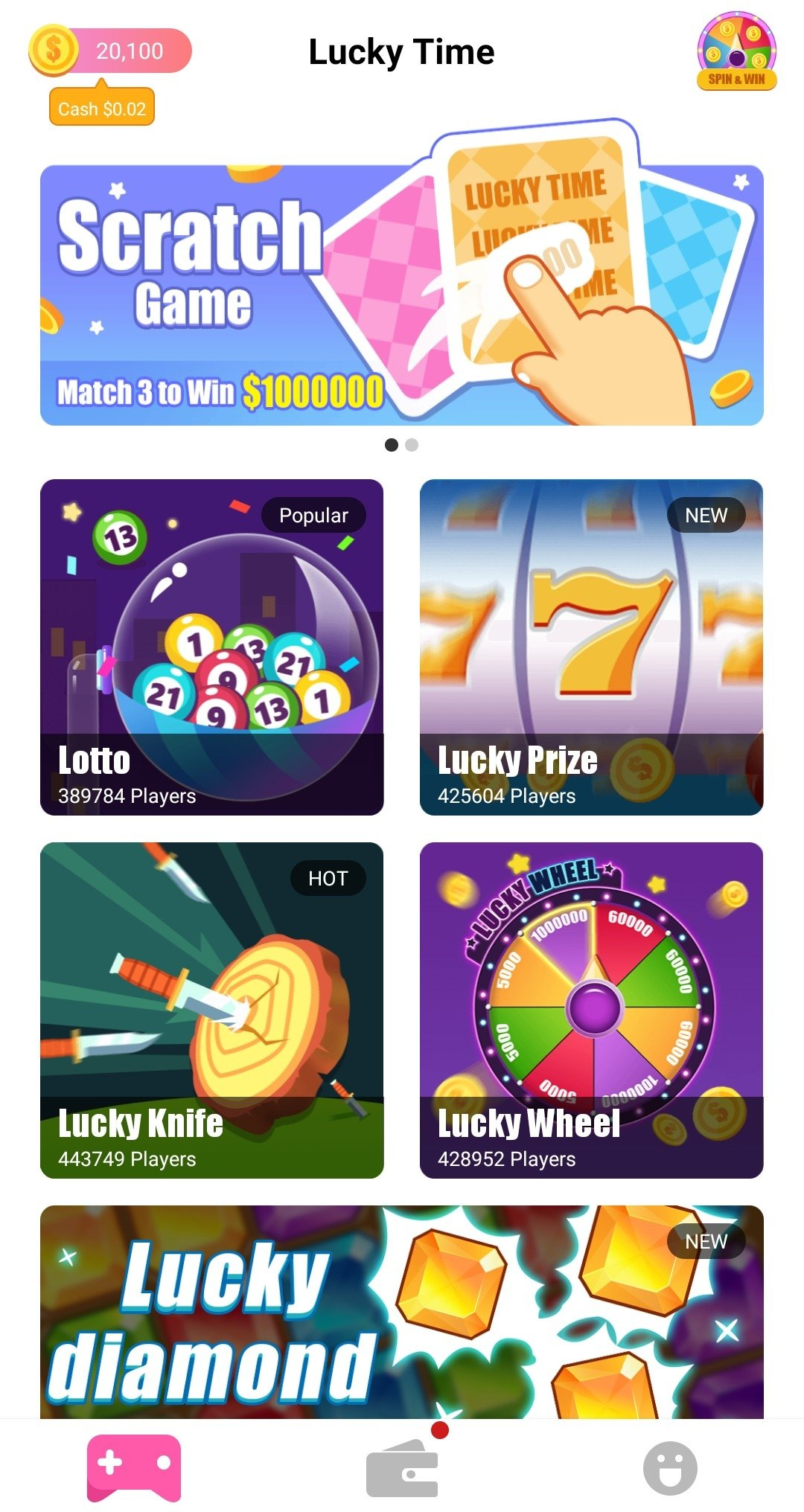 Lucky Pusher 36 Fruits