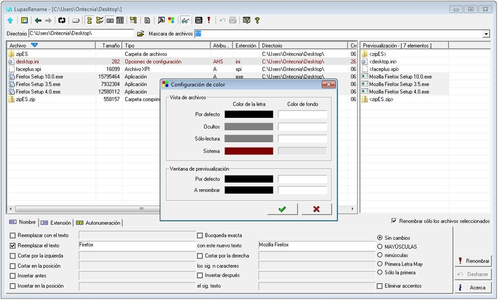 Lupas Rename 2000 5 0 - Download for PC Free