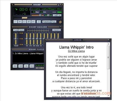 winamp lyric plugin