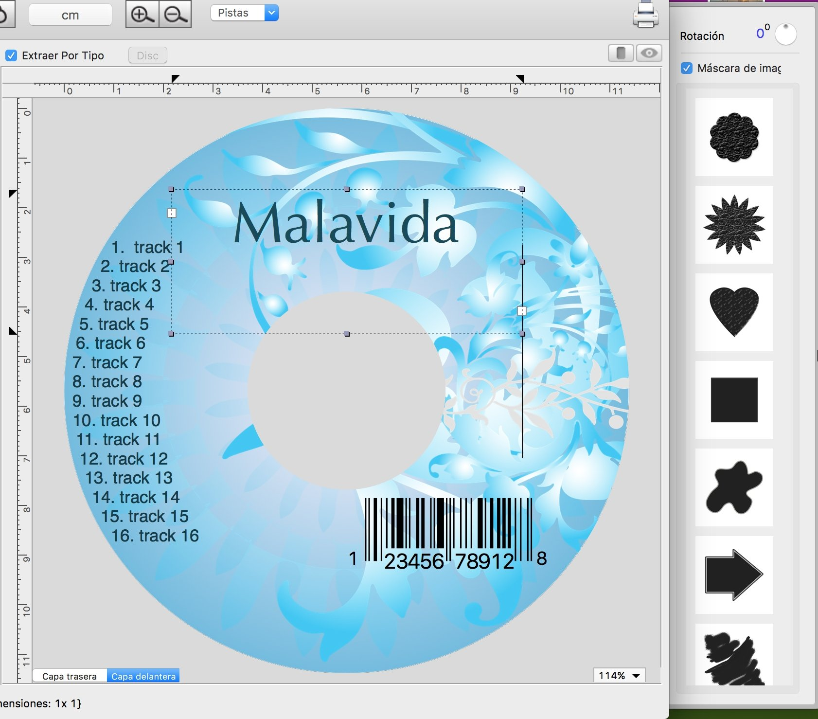 cd label maker software free mac