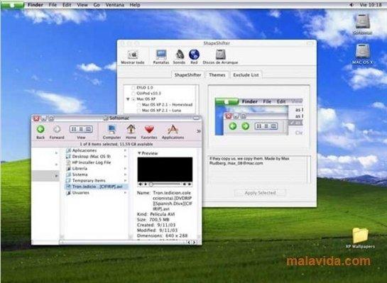 Mac OS XP 2 5 - Download Free