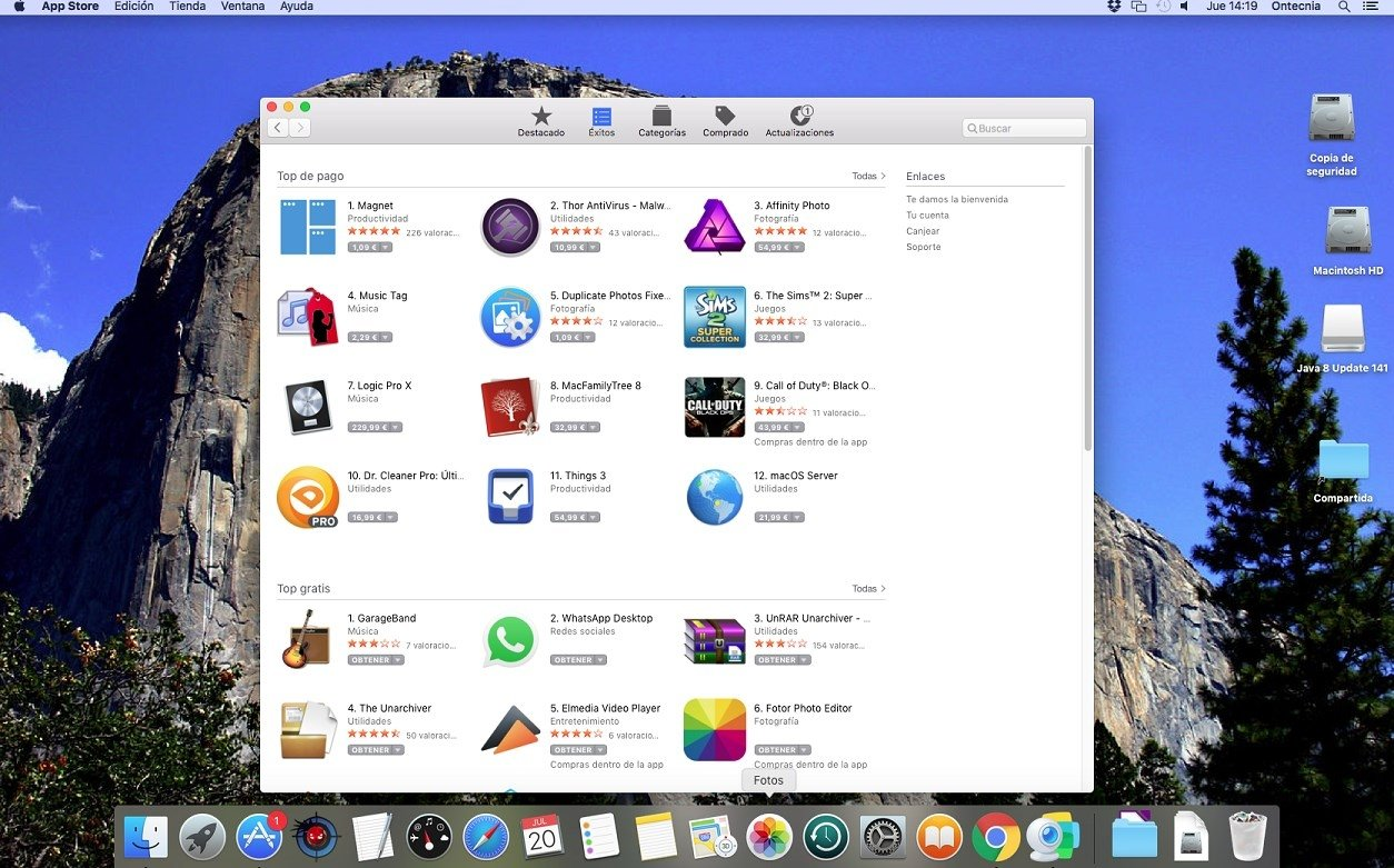 macOS El Capitan 10 11 6 - Download for Mac Free