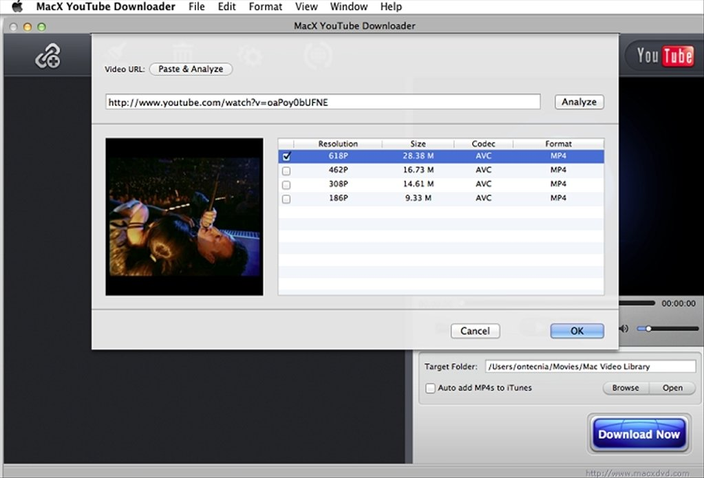 MacX YouTube Downloader Mac image 4
