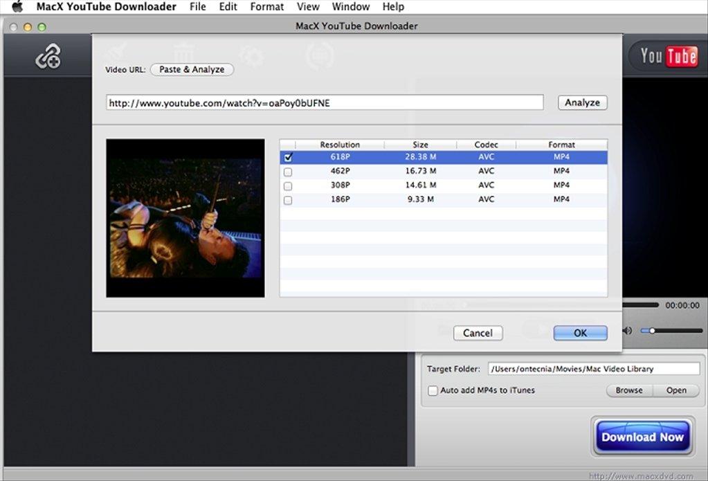 Downloader mit integriertem Player für YouTube