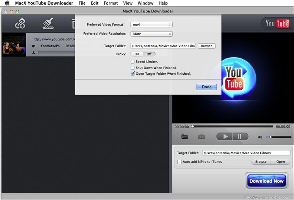 scaricare video d youtube con mac