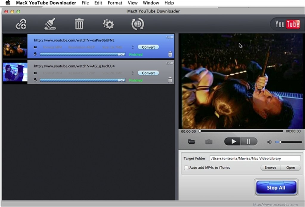 MacX YouTube Downloader 5 1 0 - Download for Mac Free