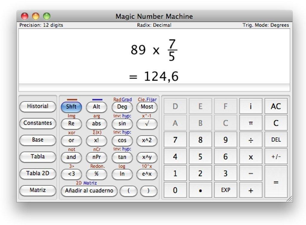 magic number machine