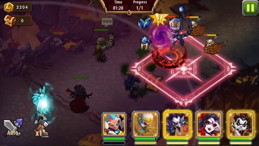 Magic Rush: Heroes Android image 5