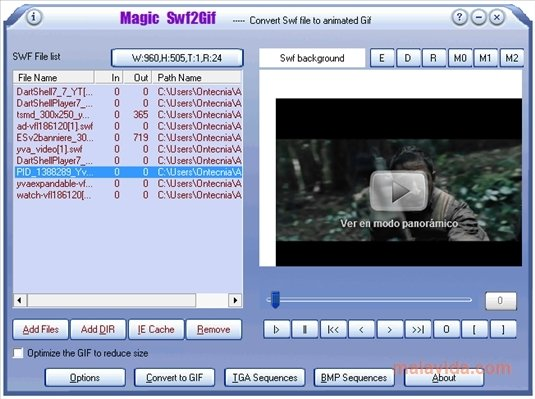Magic Swf2Gif 1 35 - Download for PC Free