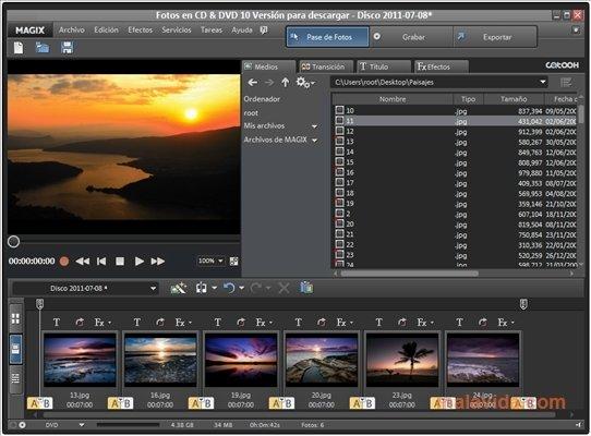 MAGIX Photos sur CD & DVD image 6