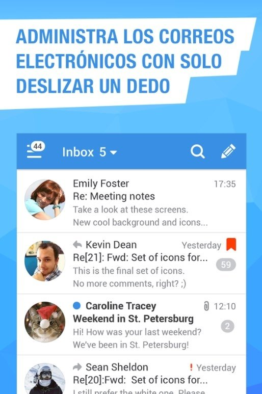 Mail Ru - Email App - Download for iPhone Free