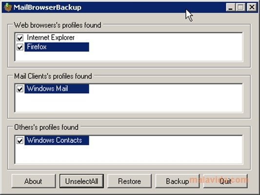 MailBrowserBackup image 3