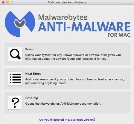 Malwarebytes Anti-Malware Mac image 3