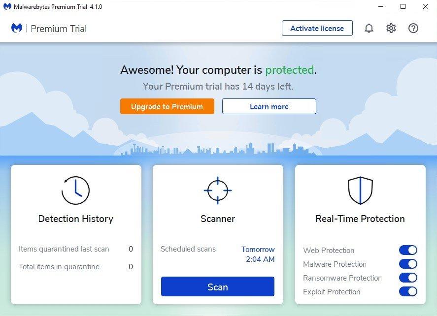 Malwarebytes Anti-Malware image 7