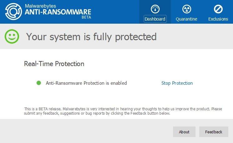 Malwarebytes Anti-Ransomware image 3