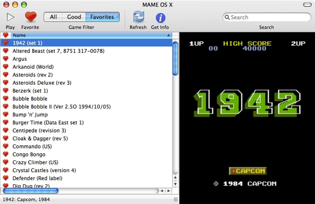 MAME OS X 0 135 - Download for Mac Free
