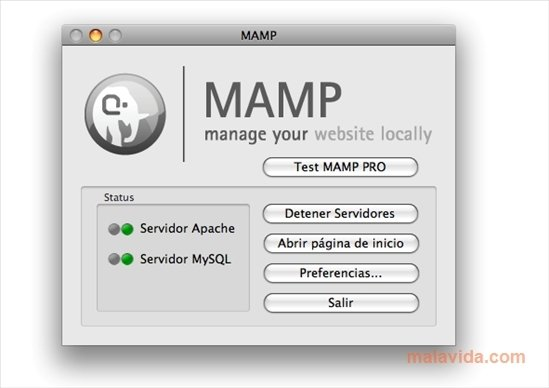 MAMP 2.2