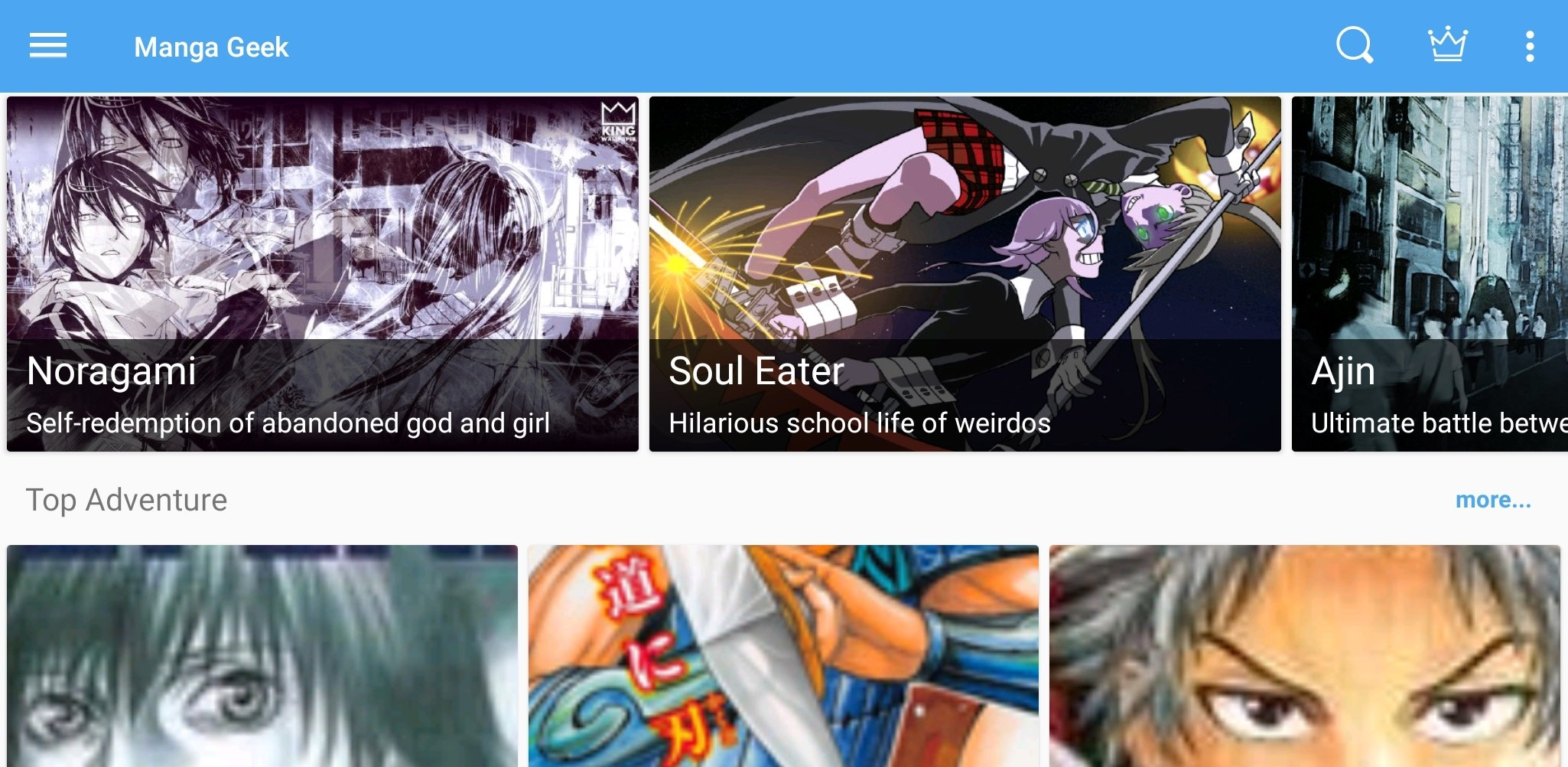 Download Manga Geek Android Apk For Android