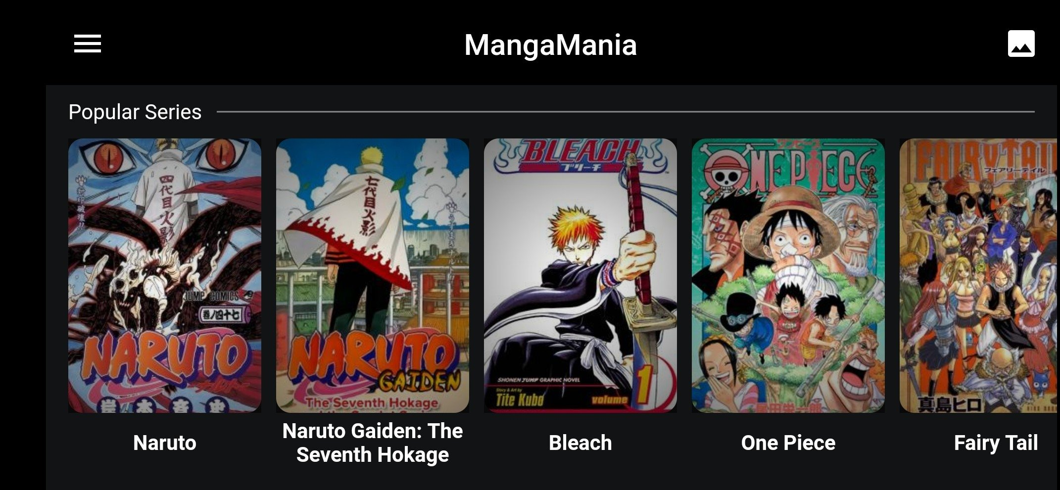 Mangamania Android