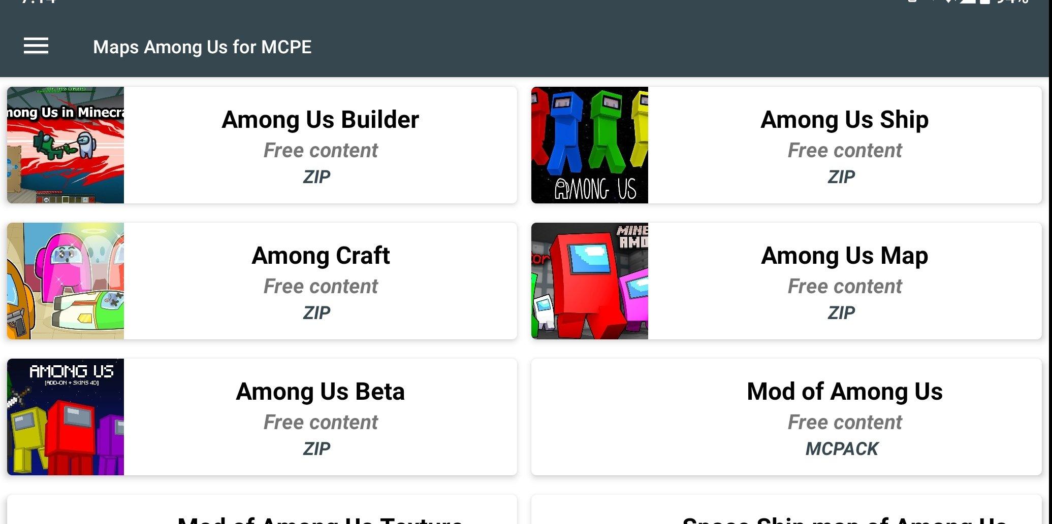 Maps Of Among Us For Minecraft Pe 1 0 Telecharger Pour Android Apk Gratuitement
