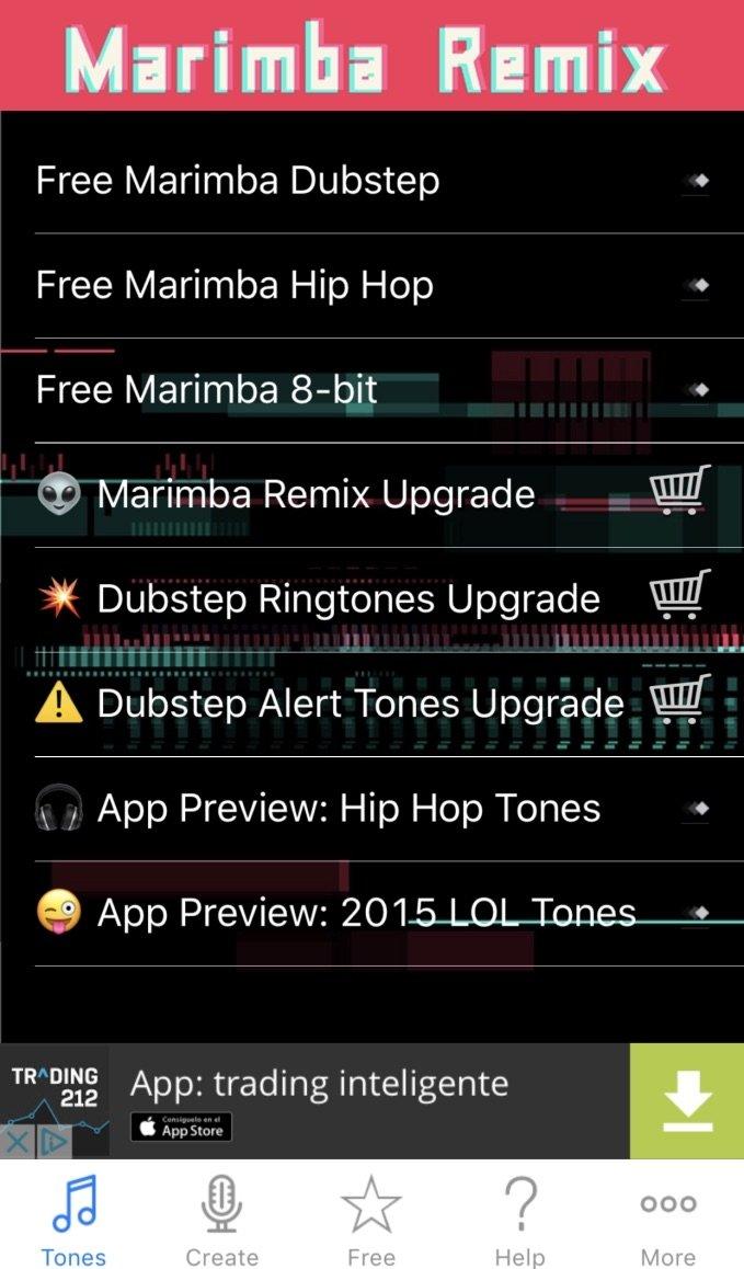 Tonos Gratis Para Iphone Marimba
